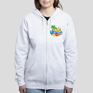 Ukulele Island Logo Women's Zip Hoodie