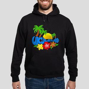 Ukulele Island Logo Hoodie (dark)