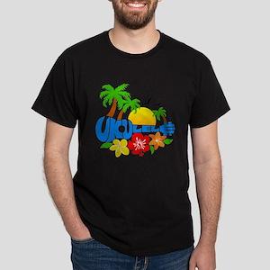 Ukulele Island Logo Dark T-Shirt