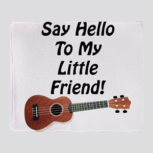 Say Hello To My Little Friend! Ukulele Stadium Bl
