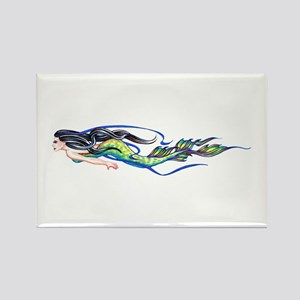 Mermaid Rectangle Magnet