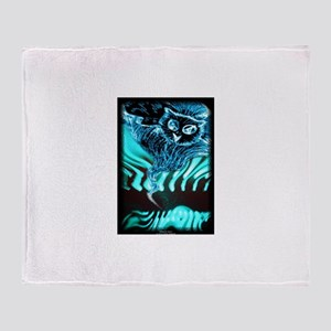 Ride the Storm Throw Blanket