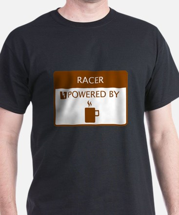 Racer Powered by Coffee T-Shirt