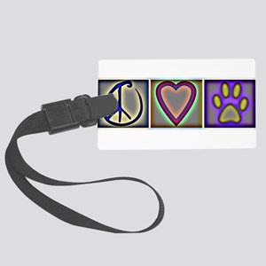 CafepressShopDesigns9-1 Large Luggage Tag