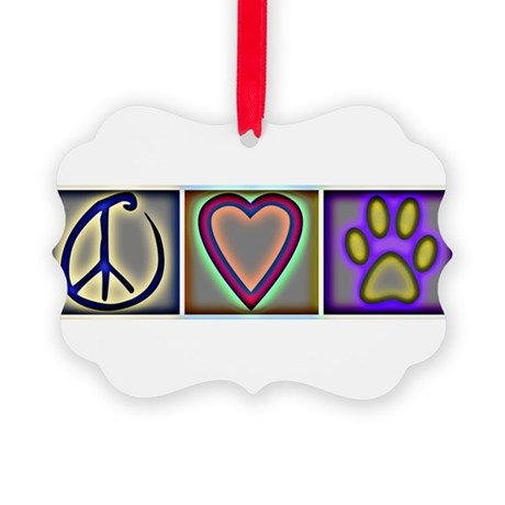 CafepressShopDesigns9-1 Picture Ornament