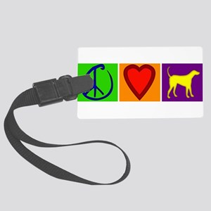 CafepressShopDesigns5 Large Luggage Tag