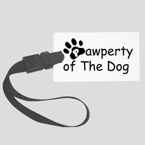 PropertyoftheDog Large Luggage Tag