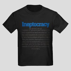 Ineptocracy Kids Dark T-Shirt