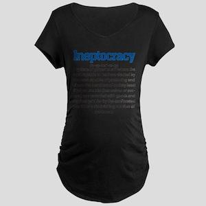 Ineptocracy Maternity Dark T-Shirt