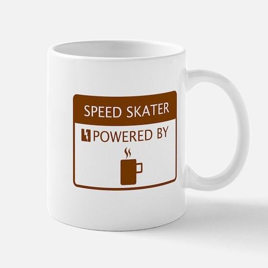 Speed Skater Powered by Coffee Mug