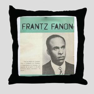 Frantz Fanon Throw Pillow