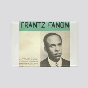 Frantz Fanon Rectangle Magnet