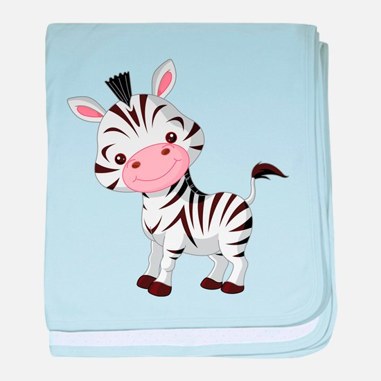 Cute Baby Zebra baby blanket