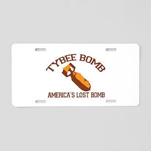 tybee island Aluminum License Plate
