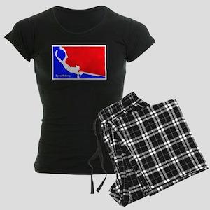 Major League Spearfishing Women's Dark Pajamas