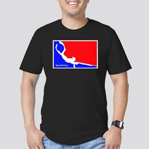 Major League Spearfishing Men's Fitted T-Shirt (da
