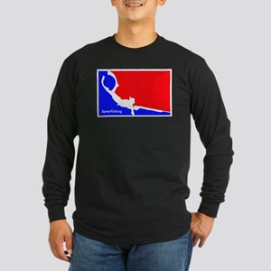 Major League Spearfishing Long Sleeve Dark T-Shirt