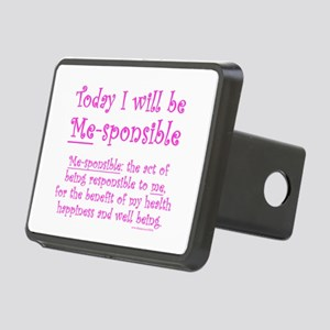 Me-sponsible Rectangular Hitch Cover