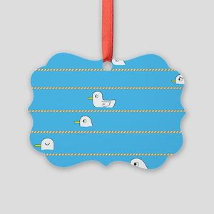 Swimming Contest Picture Ornament