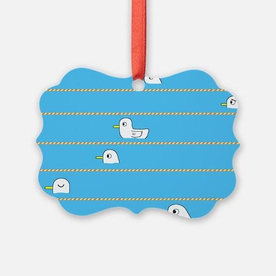 Swimming Contest Ornament