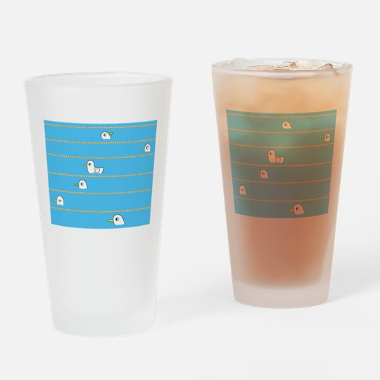 Swimming Contest Drinking Glass