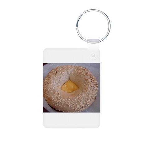 delicious breakfast Aluminum Photo Keychain