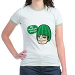 Mr. Melon Head Jr. Ringer T-Shirt
