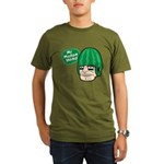 Mr. Melon Head Organic Men's T-Shirt (dark)
