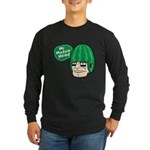 Mr. Melon Head Long Sleeve Dark T-Shirt