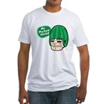 Mr. Melon Head Fitted T-Shirt