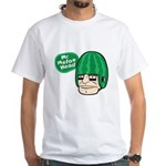 Mr. Melon Head White T-Shirt