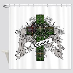 Duncan Tartan Cross Shower Curtain