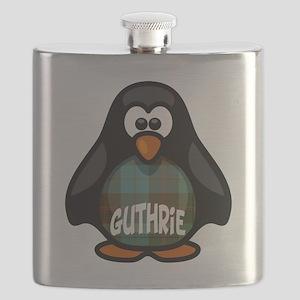 Guthrie Tartan Penguin Flask