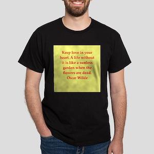 oscar wilde quote Dark T-Shirt