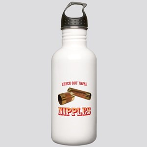 Nipples Stainless Water Bottle 1.0L