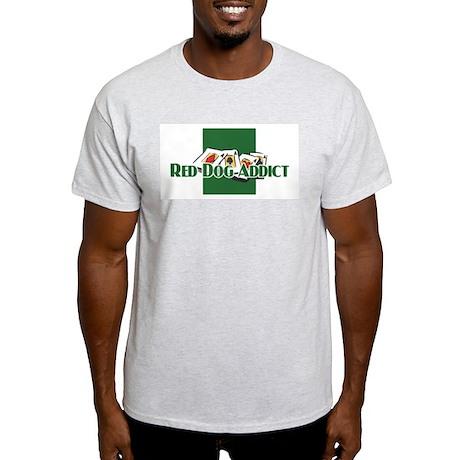 Red Dog Ash Grey T-Shirt