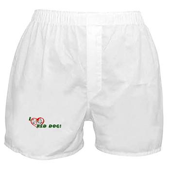 Red Dog Boxer Shorts