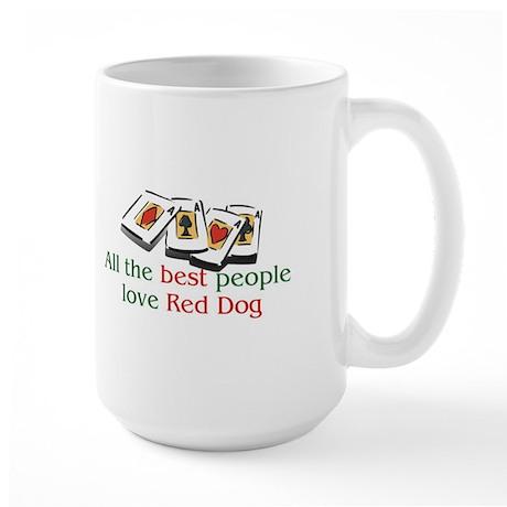 Red Dog Large Mug