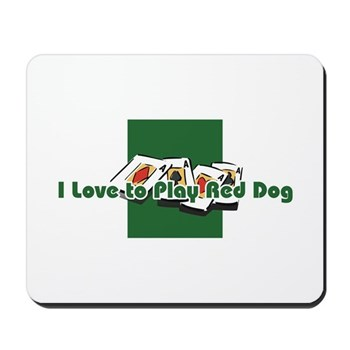 Red Dog Mousepad