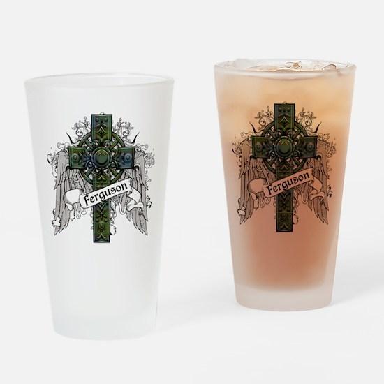 Ferguson Tartan Cross Drinking Glass