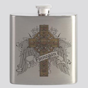 Finnegan Tartan Cross Flask