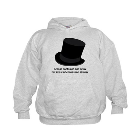 Confusion and Delay Kids Hoodie