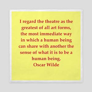 oscar wilde quote Queen Duvet