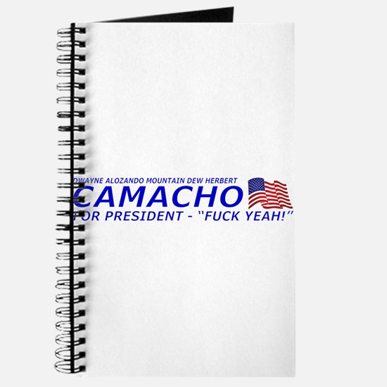 Camacho For President 2012 Election Campaign Journ