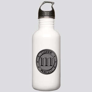 Three Percent Silver Stainless Water Bottle 1.0L