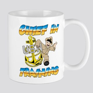 Navy Chief in Training little boy Mug