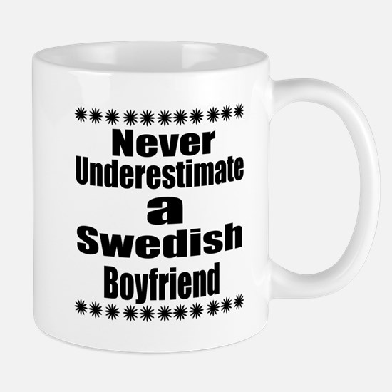Never Underestimate A Swedish Bo Mug