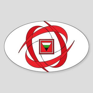 Flux Love Neutrois Sticker (Oval)