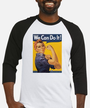 We Can Do It Baseball Jersey
