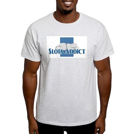 SLots Ash Grey T-Shirt